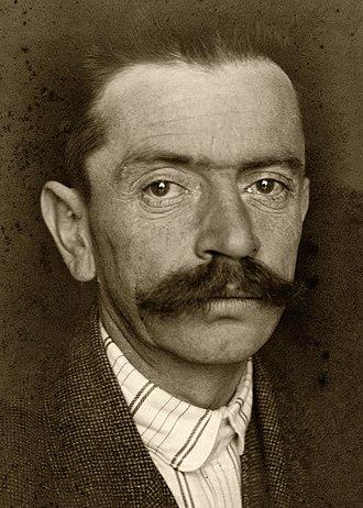 Ivan Cankar - Image: Ivan Cankar 1915