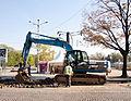 JCB JS220 Excavator in Sofia 2012 PD 3.jpg