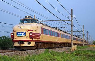 489 series Japanese train type
