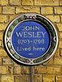 JOHN WESLEY (1703-1791) Lived here.jpg