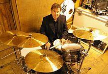 John Louis Richardson (Drummer) at Indy