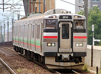 Chitose Line - Image: JR Hokkaido 731