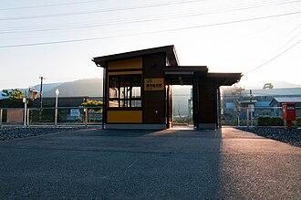 Rikuchū-Matsukawa Station - Rikuchū-Matsukawa Station in October 2010