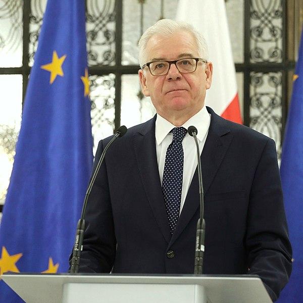 Глава МИД Польши почтил память жертв Второй мировой войны