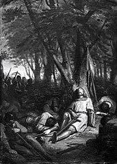 Anno 1061. Graaf Floris I van Holland wordt te Nederhemert gedood