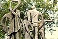 Jadavpur University statue photographed during Bengali Wikipedia 10th Anniversary Celebration 5811.jpg