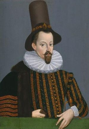 The Bonnie Earl O' Moray - King James VI painted in 1590, two years before the murder