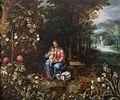 Jan Brueghel II (Attr.) and Pieter van Avont (Attr.) - The Rest on the Flight into Egypt.jpg