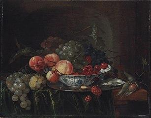 Still Life of Fruit in a Wan-Li Bowl