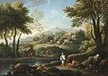 Jan Frans van Bloemen - Roman landscape with shepherd.jpg