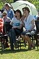 Jane Birkin, Charlotte Gainsbourg 2, Inauguration of Jardin Serge-Gainsbourg.jpg