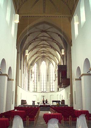De Janskerk in Utrecht.