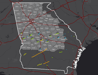 Tornado outbreak of January 21–23, 2017 prolific winter tornado outbreak in the Southeastern United States
