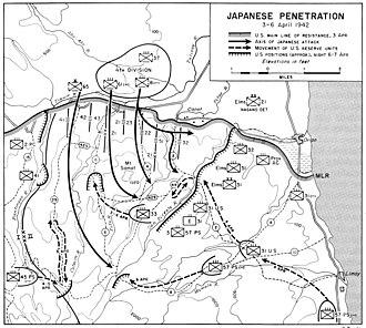 Mount Samat - Japanese breakthrough of the Orion-Bagac Line April 1942