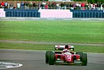 Jean Alesi - Ferrari F93A during practice for the 1993 British Grand Prix (33530341082).jpg