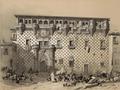 Jenaro Pérez Villaamil (1844) Guadalajara. Palacio de los Duques del Infantado.png