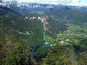 Schönau am Königsee - View from Mt. Jenner