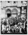 Jerusalem (El-Kouds). Church of the Holy Sepulchre at Easter time LOC matpc.06563.tif