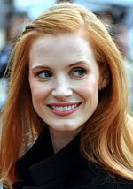 Foto van Jessica Chastain bij de Empire Awards 2015.