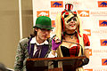 Jessica Nigri & Riddler cosplayer (8422450580).jpg