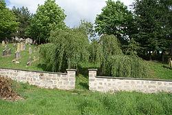 Jewish cemetery in Veselice 01.JPG