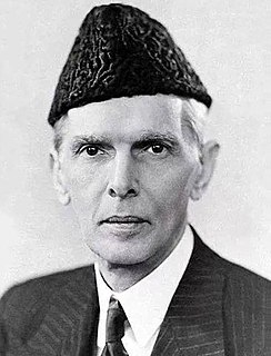 Muhammad Ali Jinnah Founder and 1st Governor General of Pakistan