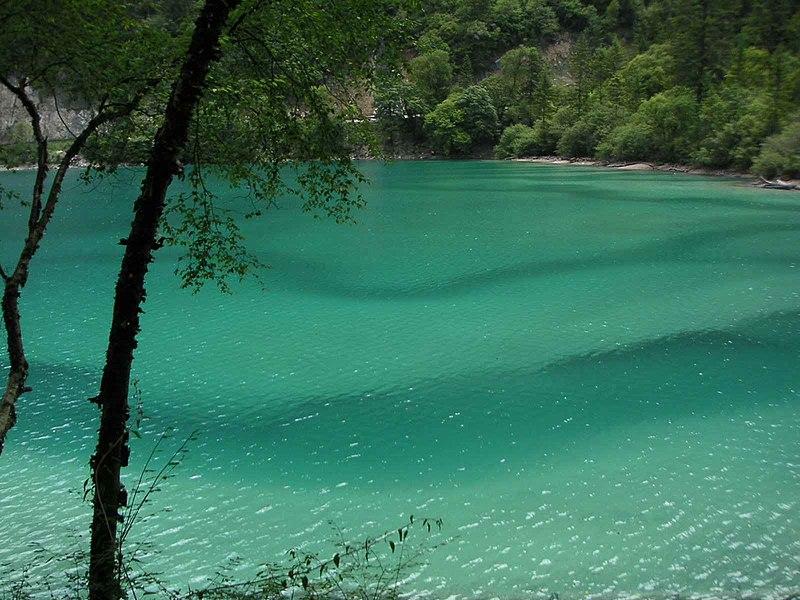 Ficheiro:Jiuzhaigou Panda Lake.jpg