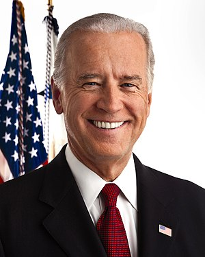 United States presidential election, 2012 timeline - Vice President Joe Biden of Delaware