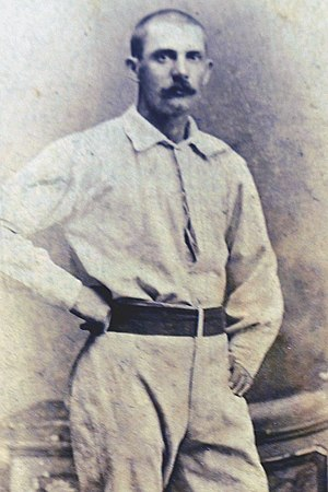 Joe Miller (second baseman) - Image: Joe W. Miller (1877 St. Paul Red Caps) 3