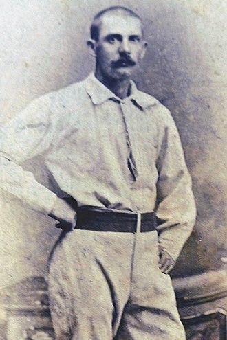 Joe Miller (second baseman) - Image: Joe W. Miller (1877 St. Paul Red Caps) 3
