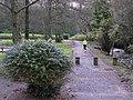Jogging near the Lovers Retreat - geograph.org.uk - 1581900.jpg