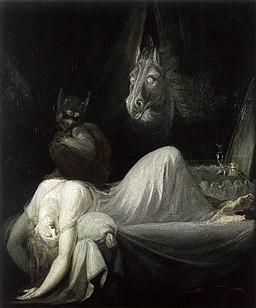 Johann Heinrich Füssli - The Nightmare - WGA08333