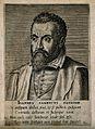 Johannes Sambucus. Line engraving by P. Galle, 1572. Wellcome V0005192.jpg