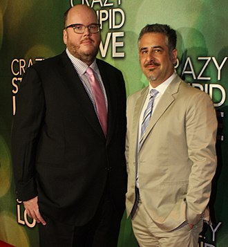 John Requa - Requa (left) with Glenn Ficarra at the Sydney Crazy, Stupid, Love. premiere in September 2011