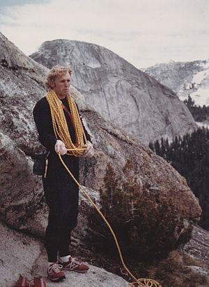 John Bachar - Image: John Bachar, in Tuolumne, above Yosemite, mid 1980s