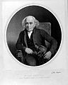John Burns. Lithograph by L. Ghémar after S. Watson. Wellcome L0025131.jpg