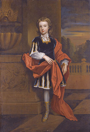 Duke of Marlborough (title) - John Churchill, Marquess of Blandford (1686–1703)