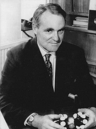 John Cornforth - Cornforth in 1975