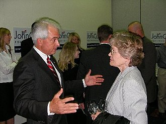 John H. Cox - Cox at the 2007 Lincoln Day Dinner in Des Moines, Iowa