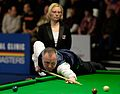 John Higgins and Maike Kesseler at Snooker German Masters (DerHexer) 2015-02-04 01.jpg