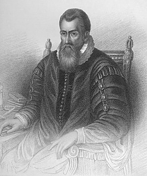 Samuel Freeman (engraver) - Portrait of John Napier.