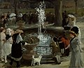 John Sloan - Throbbing Fountain, Madison Square (1907).jpg