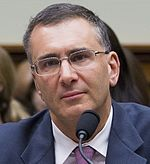 Jonathan Gruber at US House Oversight Cmte in 2014.jpg