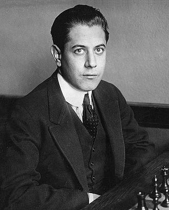 José Raúl Capablanca - Capablanca in 1919