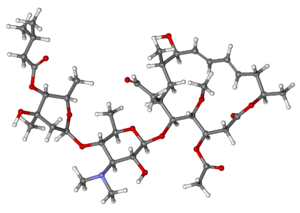 Josamycin ball-and-stick.png