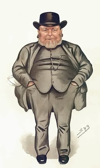 Joseph Arch - Arch caricatured by Spy in Vanity Fair, 1886