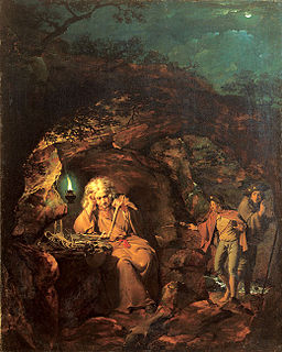 Joseph Wright of Derby. A Philosopher by Lamp Light. exhibited 1769