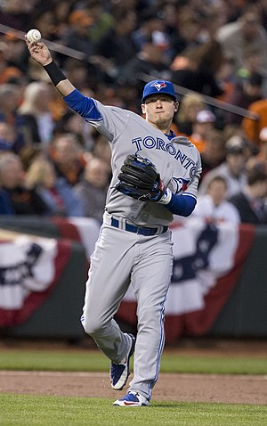 2015 Toronto Blue Jays season - Josh Donaldson hit 10 home runs in May, including 6 in the final week of the month to win the American League Player of the Week award.