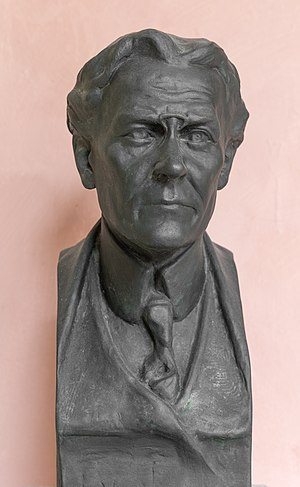 Julius von Schlosser - Bust of Julius von Schlosser at the Arkadenhof of the University of Vienna
