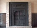 July 9 2005 - The Lahore Fort-A black wooden door.jpg